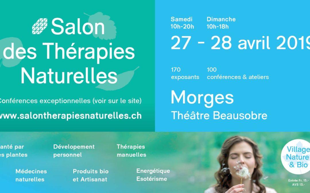 Salon des thérapie naturelles Morges 2019